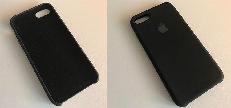 original apple silikon hülle iphone 7