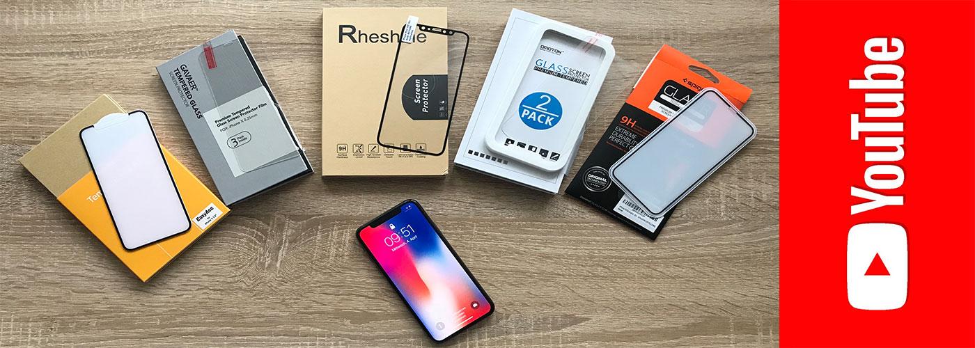 ALLE 5 iPHONE X PANZERGLÄSER IM TEST