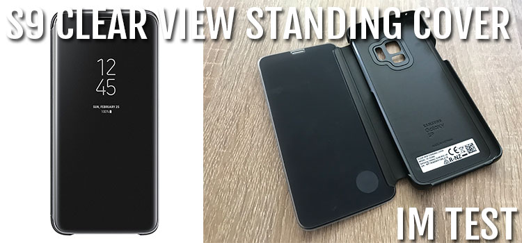 Samsung Galaxy S9 & Plus Clear View Standing Cover im Test
