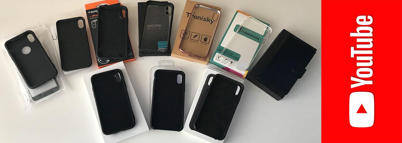 DIE 10 BELIEBTESTEN iPHONE X HÜLLEN IM TEST