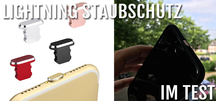 Staubschutz Stöpsel für iPhone & andere Smartphones