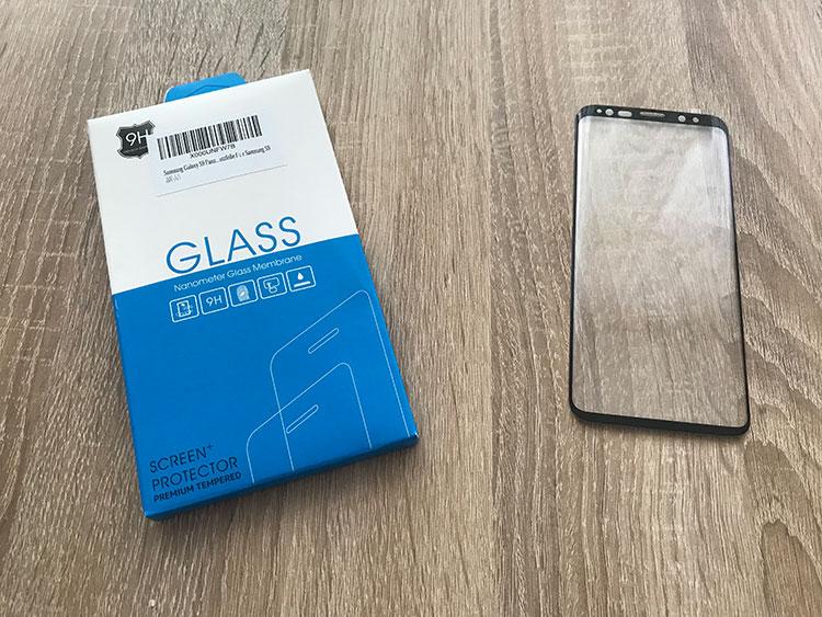 samsung s9 plus panzerglas test