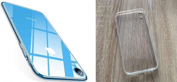 iPhone XR die Torras Crystal Clear Hülle im Test