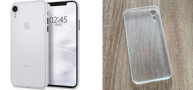 iPhone XR Spigen Air Skin Hülle im Test