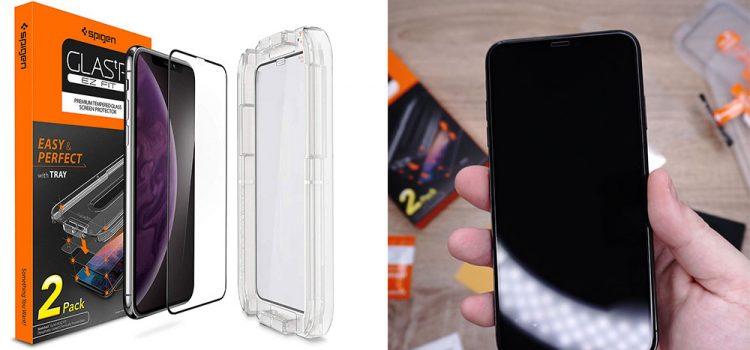 iPhone XS & MAX – Großes Panzerglas von Spigen im Test
