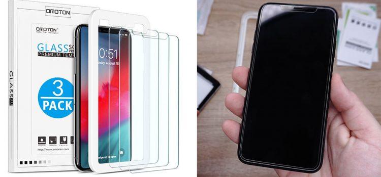 iPhone XS & MAX – Kleines Panzerglas von Omoton im Test