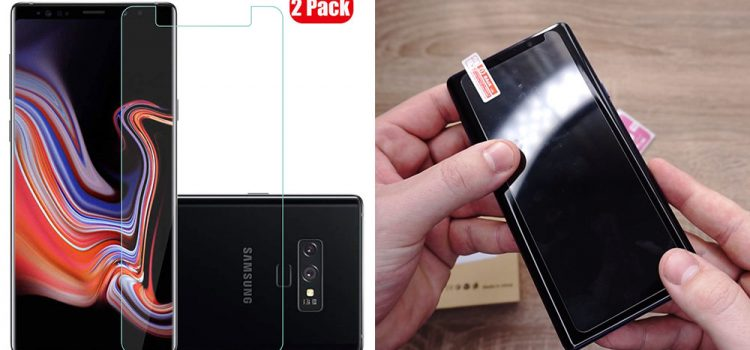 Samsung Galaxy Note 9 – Kleines Panzerglas von Voviqi im Test