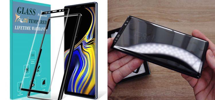 Samsung Galaxy Note 9 – Großes Panzerglas mit geschlossener Notch