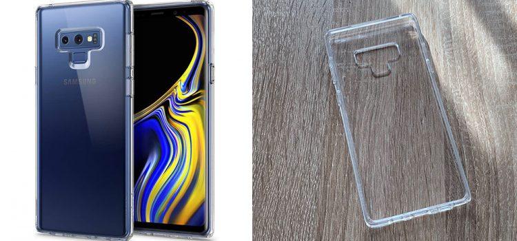 Samsung Galaxy Note 9 – Die transparente Spigen ultra Hybrid Hülle