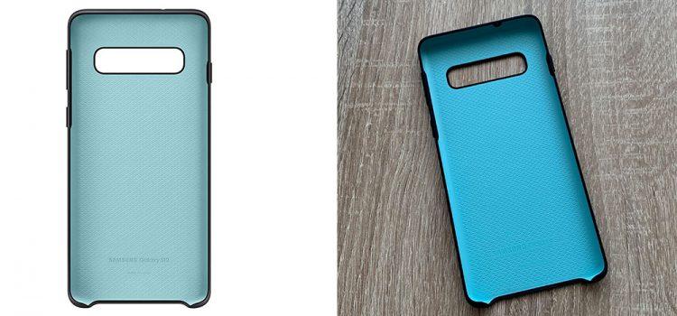 Samsung Galaxy S10 & Plus – Die originale Samsung Silikonhülle