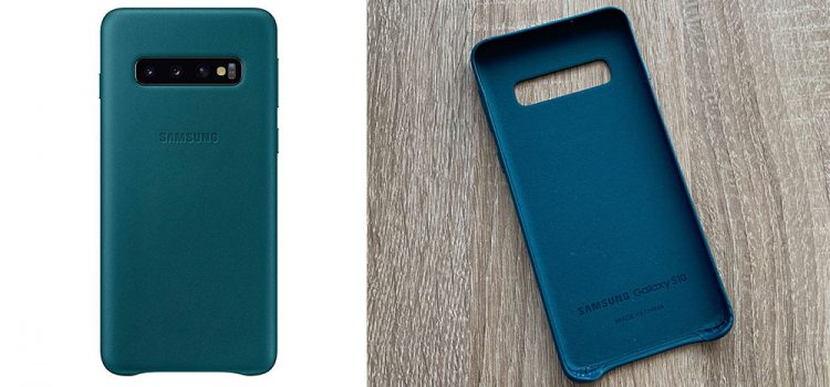 Samsung Galaxy S10 & Plus – Die originale Samsung Lederhülle