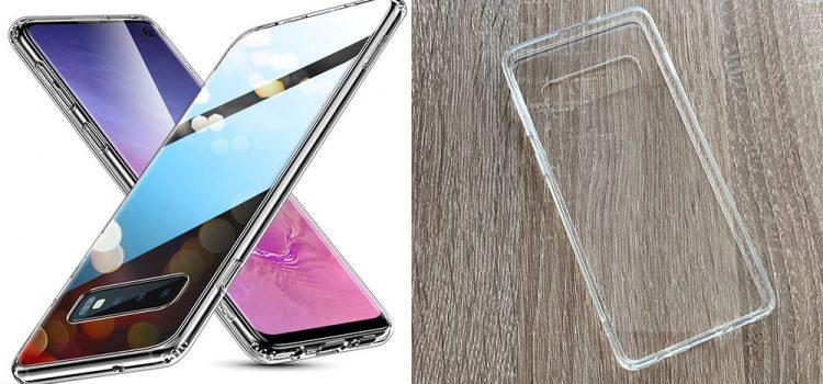 Samsung Galaxy S10 & Plus – Die volltransparente Hülle von ESR mit Glasrückseite