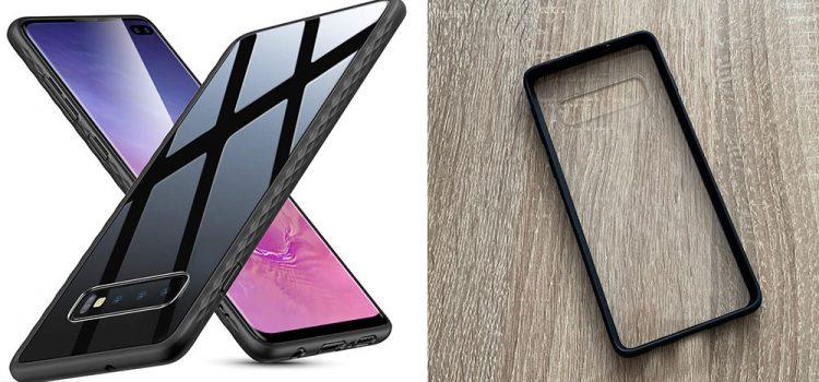 Samsung Galaxy S10 & Plus – Die transparente Hülle von ESR mit Glasrückseite