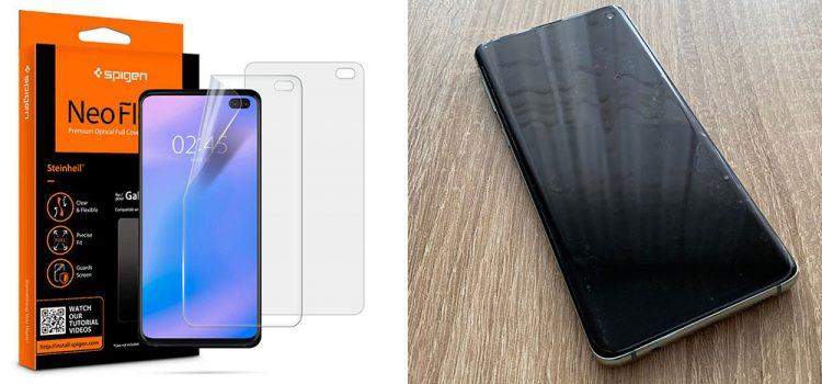 Samsung Galaxy S10 & Plus – Die Panzerfolie von Spigen im Test