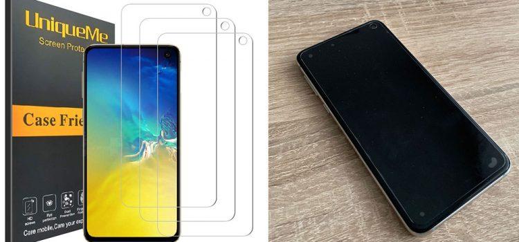 Samsung Galaxy S10e Panzerglas – Das kleine von UniqueMe im Test