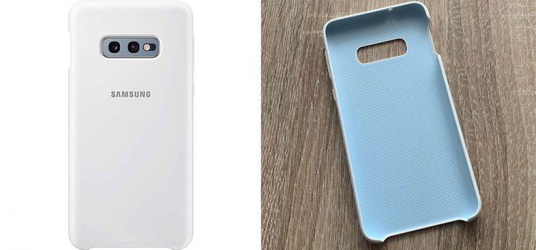 Samsung Galaxy S10e Hülle – Die originale Silikon Hülle im Test