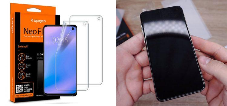 Samsung Galaxy S10e Schutzfolie – Die große von Spigen im Test