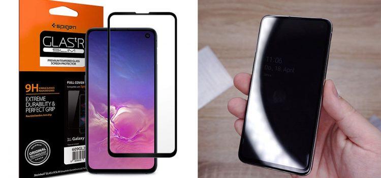 Samsung Galaxy S10e Panzerglas – Das große von Spigen im Test