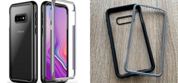 Samsung Galaxy S10e Hülle – Die zweiteilige Hülle von Temdan