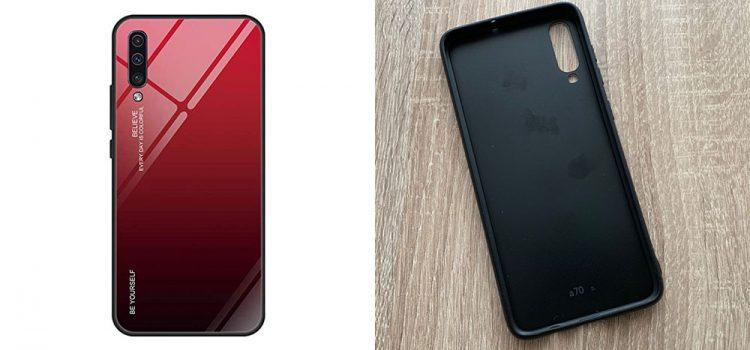 Samsung Galaxy A70 Hülle – Die Spiegel Hülle von bigbigjk im Test