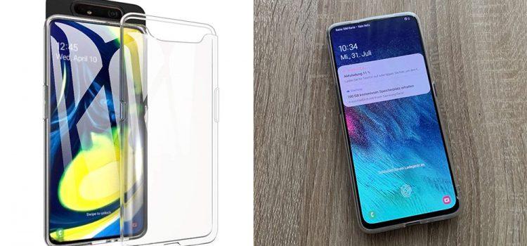 Samsung Galaxy A80 Hülle – Die transparente von Beetop im Test