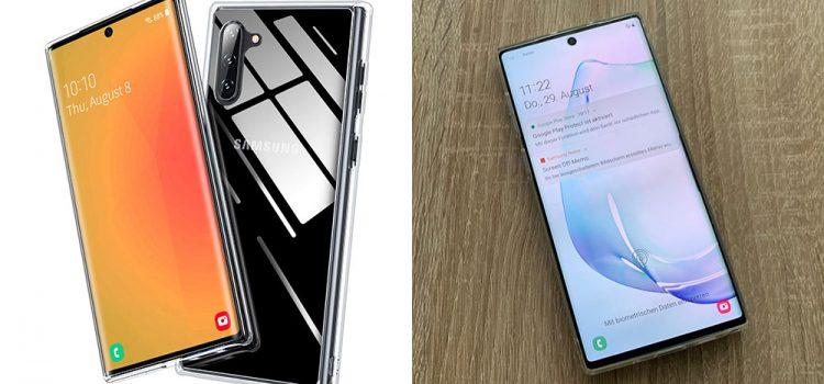 Samsung Galaxy Note 10 & Plus – Die transparente Hardcase Hülle von Bannio im Test