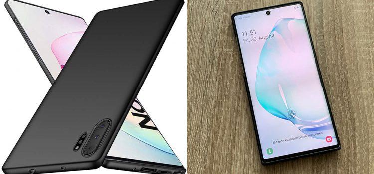 Samsung Galaxy Note 10 & Plus – Die ultra dünne Hülle von TopACE im Test