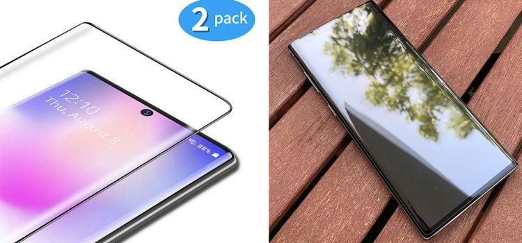 Samsung Galaxy Note 10 & Plus – Das Panzerglas mit schwarzen Rand von Tamowa im Test