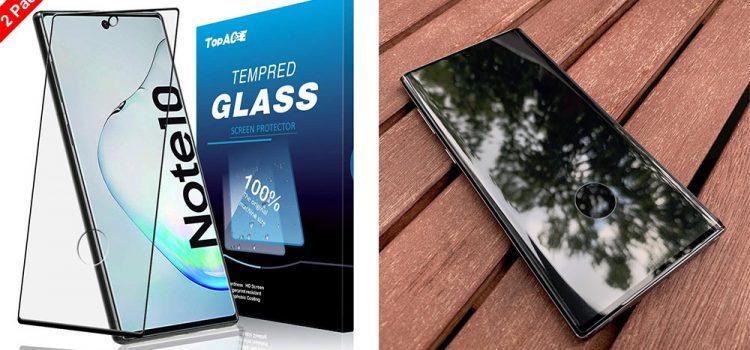 Samsung Galaxy Note 10 & Plus – Das Panzerglas mit Loch von TopAce im Test