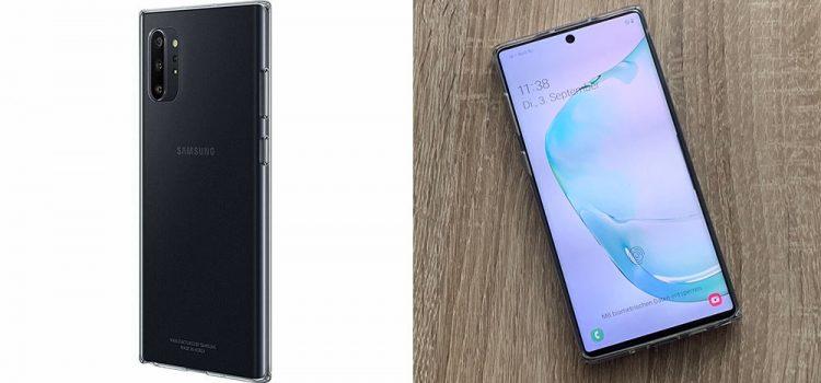 Samsung Galaxy Note 10 & Plus – Das originale Clear Cover im Test