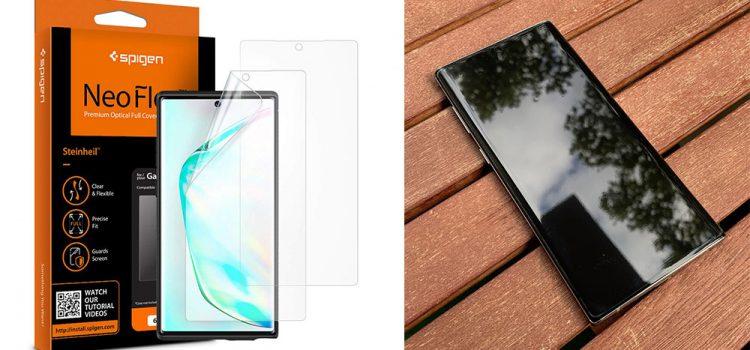 Samsung Galaxy Note 10 & Plus – Die Spigen Neo Flex Schutzfolie im Test