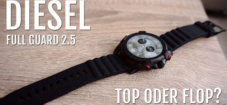 Diesel Full Guard 2.5 Smartwatch im Test – Eine Alternative zur Apple Watch?