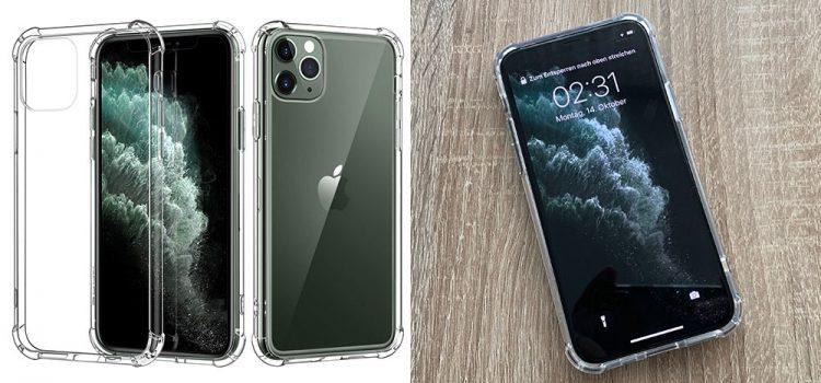 iPhone 11, Pro & Max – Die transparente Hardcase Hülle von MoKo im Test