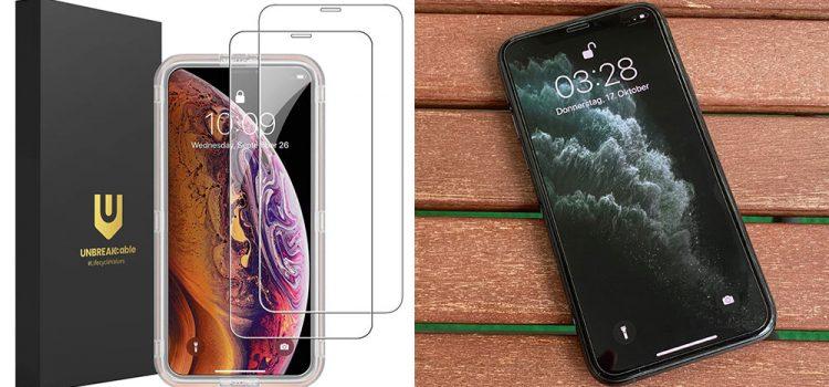 iPhone 11, Pro & Max – Das kleine Panzerglas von Unbreakcable im Test