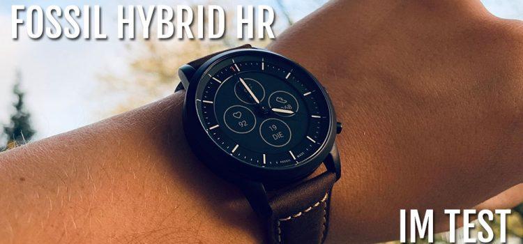 Fossil Collider Hybrid HR im Test – Endlich die perfekte Hybrid Uhr?