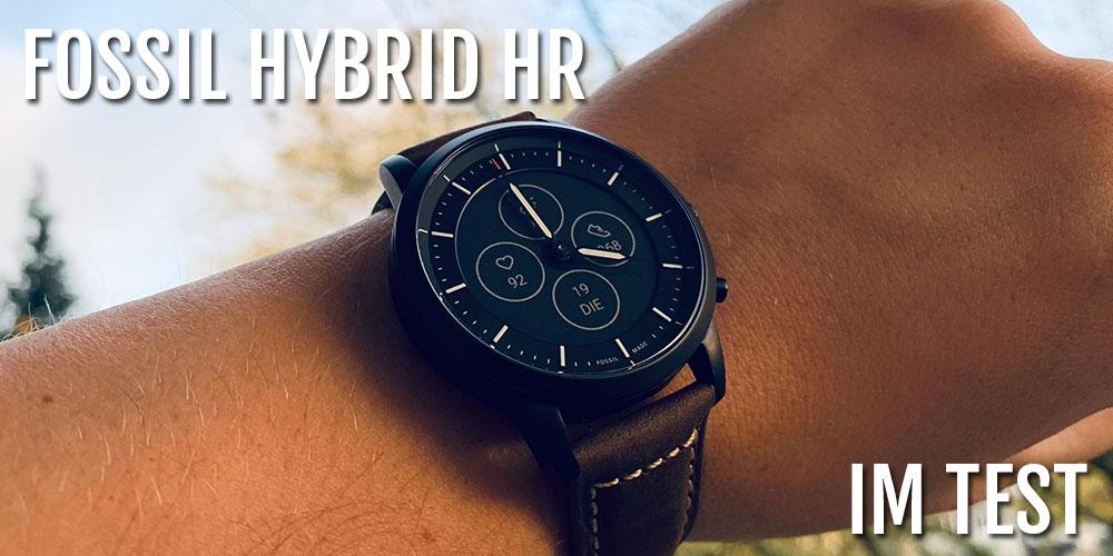 Fossil Collider Hybrid Hr Im Test Endlich Die Perfekte Hybrid Uhr