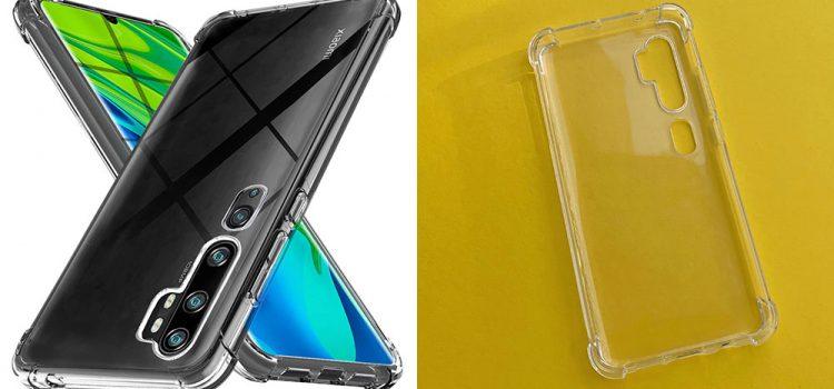 Xiaomi Mi Note 10 – Die transparente Hülle von Ferilinso im Test