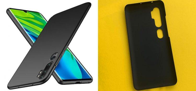 Xiaomi Mi Note 10 – Die ultra dünne Hülle von TopACE im Test