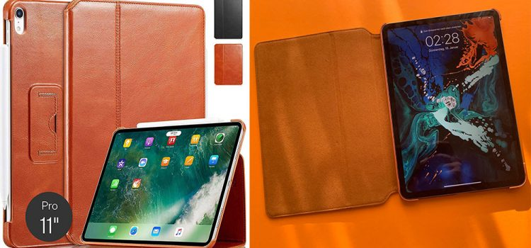 Apple iPad Pro – Die Lederhülle von Kavaj im Test