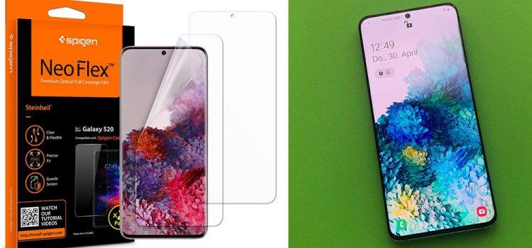 Samsung Galaxy S20, Plus & Ultra – Die NeoFlex Schutzfolie von Spigen im Test