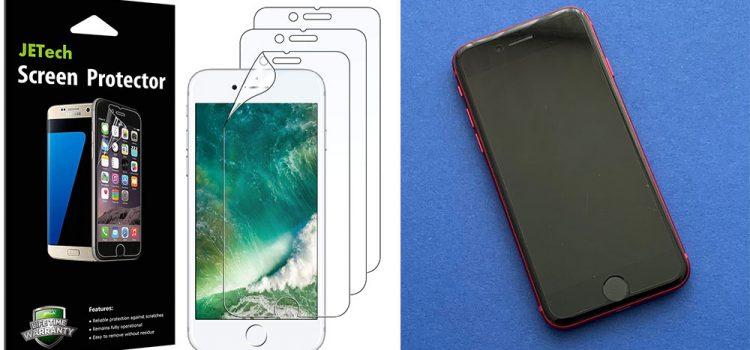 Apple iPhone SE 2020 – Die Schutzfolie von JETech im Test