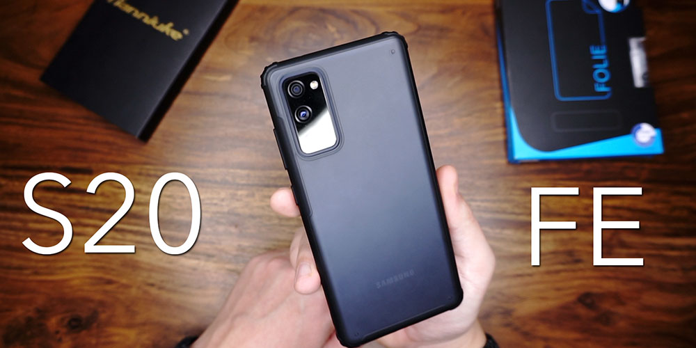 Beste Kombination Samsung Galaxy S20 Fe 5g Hülle panzerglas