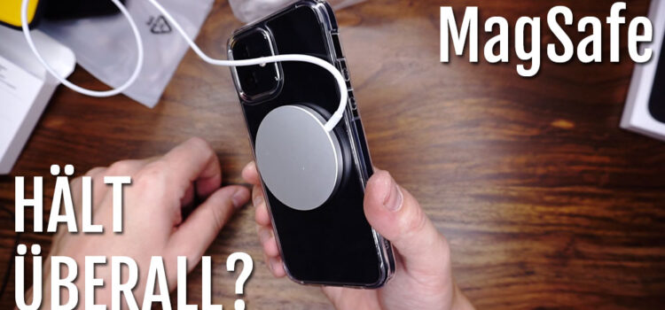 MagSafe – Hält er an allen Hüllen oder nur an originalen Apple Hüllen?
