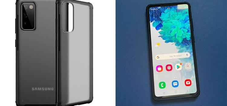 Samsung Galaxy S20 FE 5G – Die transparente Hardcase Hülle von TIANNIUKE im Test