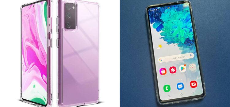 Samsung Galaxy S20 FE 5G – Die transparente Hardcase Hülle von Ringke im Test