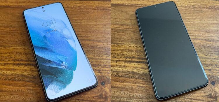 Samsung Galaxy S21 – Das Panzerglas von Spigen im Test