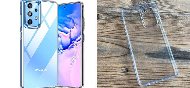 Samsung Galaxy A52 & A72 – Die transparente Hardcase Hülle von Torras im Test