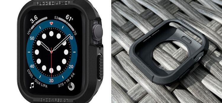apple-watch-spigen-rugged-armor-hülle-test-1