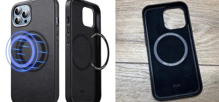 esr-leder-iphone-13-hülle-magsafe-test-2